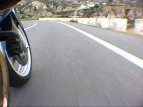 Honda Deauville On Board Tibi Alicante