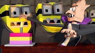 Minions Movie - Dracula Boss! (Minecraft Roleplay) #2
