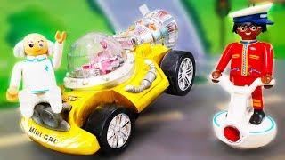 Мультики про машинки. Дети в опасности - Петрович спасает новые игрушки. Мультфильмы для детей