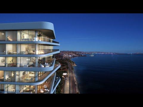 Seafront panorama properties in Zeytinburnu for sale