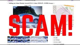 DON'T GET SCAMMED! How To Watch Out For Scams On Craigslist!