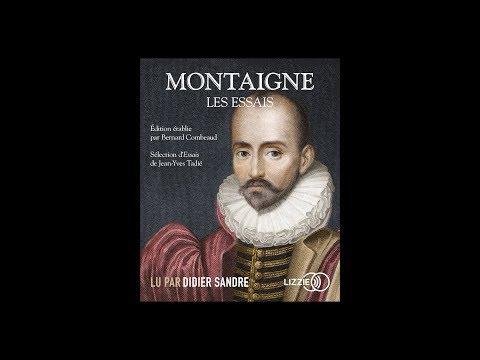 """Didier Sandre - """"Les Essais"""" de Montaigne"""