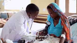 preview picture of video 'Kazibure's story - the next generation of healthcare professional in Tanzania'