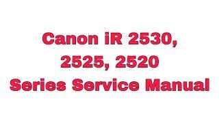 Canon ir 2520 service menu - Free video search site