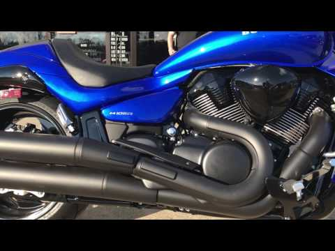 2017 Suzuki Boulevard M109R B.O.S.S. in Greenville, North Carolina