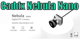Caddx Nebula Nano vs Caddx Ant + Caddx Vista HD FPV Camera!