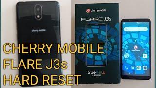 Cherry Mobile Flare J3s hard reset, forgotten password