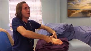 Foot Reflexology for Pregnancy - Side Lying