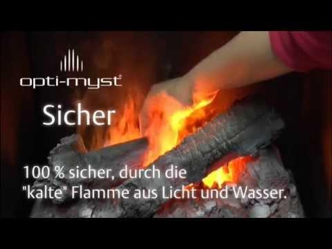 Bedienungsanleitung + Technik: Opti-myst und Optiflame Flammeneffekte für Elektrokamine (ewt)