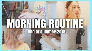 🌞夏の終わりのモーニングルーティーン🧡💛/Morning Routine~End Of Summer 2018~/yurika