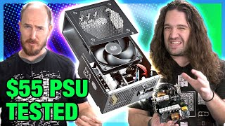Cheap Power Supply Benchmark: $55 Budget Gaming PC PSU