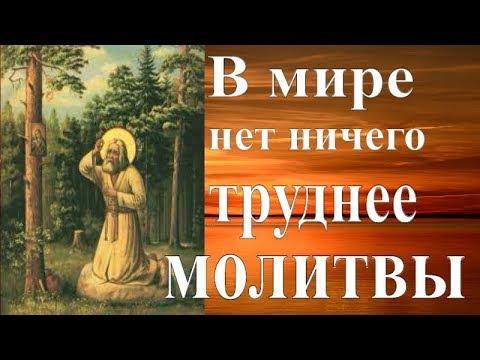 Собранность и внимательность в молитве. Длительность молитвы  - Пестов Н.Е.