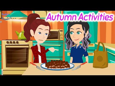 Autumn Activities -  Speaking English Conversation Practice