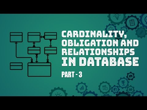 Introduction To Data Base Design | Cardinality Obligation and Relationships | Part 3 | Eduonix