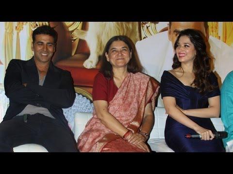 It's Entertainment Trailer Launch | Akshay Kumar, Maneka Gandhi & Tamannaah Bhatia