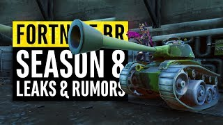 Fortnite | Season 8 Leaks And Insane Theories