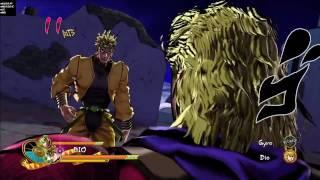 Part 3 Dio interactions with Part 1 Dio (Jojo's Bizarre Adventure Eyes of Heaven)