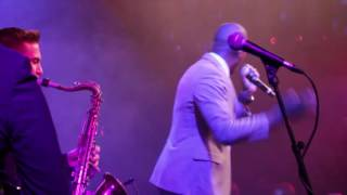 Zalon Live In Concert Performing Soul Man, Get On Up, I Feel Good and The Click
