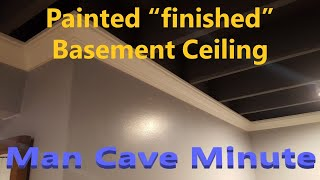 Cheap Finished Basement Ceiling