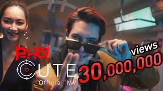 CUTE - P-HOT ( Official MV ) Prod. BossaOnTheBeat !!