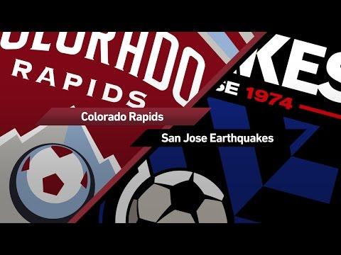 Highlights: Colorado Rapids vs. San Jose Earthquakes | May 132017