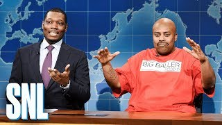 Weekend Update: LaVar Ball on Lonzo's Year - SNL - Video Youtube