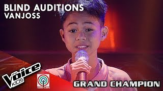 Vanjoss - My Love Will See You Through | Blind Auditions | The Voice Kids Philippines Season 4