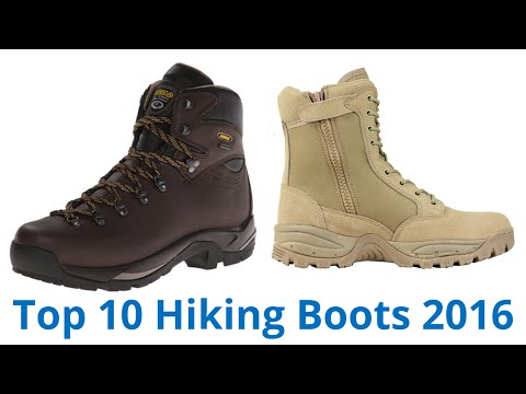 10 Best Hiking Boots 2016