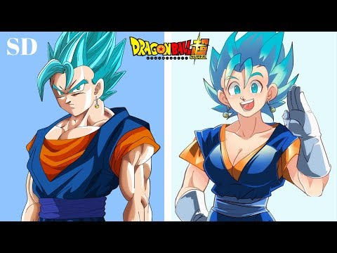 Dragon Ball Z Characters Gender Swap