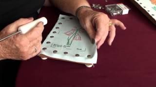 Japanese - Bunka - Punch Embroidery Starter Video