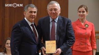 Минниханов наградил «Благотворителей года» — «Татнефть», ТАИФ, КАМАЗ, «Таттелеком»
