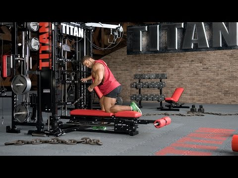 T1-X-89 - Cable One-Arm Bent-over Row