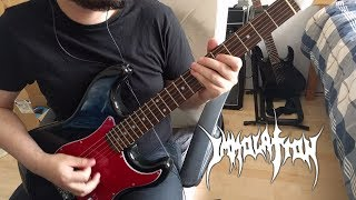 Immolation - World Agony (Guitar Cover)