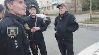 Высокоинтеллектуальная полиция пыталась отжать автомобиль