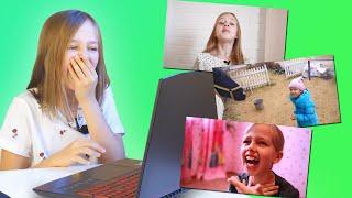 ПОЗОРИЩЕ! 🙈 Смотрю свои старые видео. Реакция.