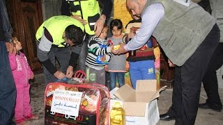 Emergency Winter Relief Distribution, Gaza, Palestine