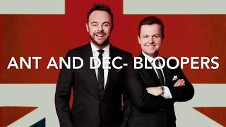 Ant and Dec- Funny Moments (Bloopers/Outtakes)