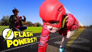 Flash Powers!? Gear Test for KIDS! Toys Review by KIDCITY