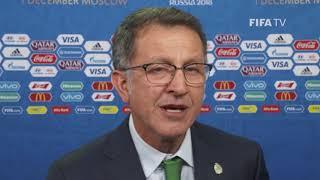 Juan Carlos OSORIO – MEXICO - Final Draw Reaction