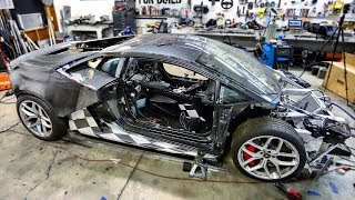 Building a Carbon Fiber Wide Body Kit for my Huracan Pt 2