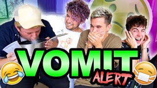 4 GUYS, 1 QUESTION (VOMIT ALERT)