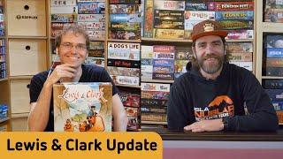 Lewis & Clark - Update zum Pickup etc.