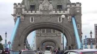 preview picture of video 'A Walk Across Tower Bridge, London, England - 15th June, 2014'