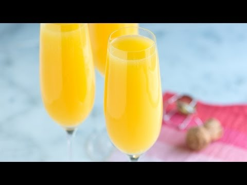 How to Make The Best Mimosa Recipe – Classic Mimosa Cocktail