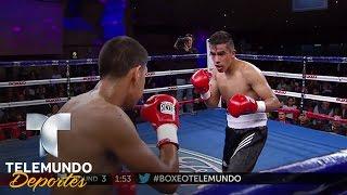 Jerson Aguilar vs. Edison Martínez (Pelea completa) | Boxeo Telemundo | Telemundo Deportes)