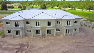 Golf Club Villas (Aerial Drone Video)
