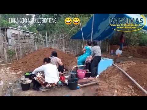 Pamsimas Bungo : Dusun Sungai Lilin Pemanfaatan Sumber PAMSIMAS. Support dari Emak-Emak.