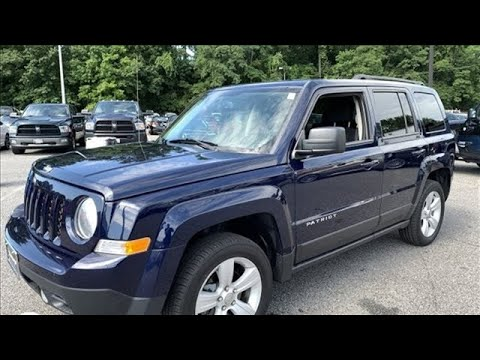 2016 Jeep Patriot Baltimore MD Owings Mills, MD #CU627942