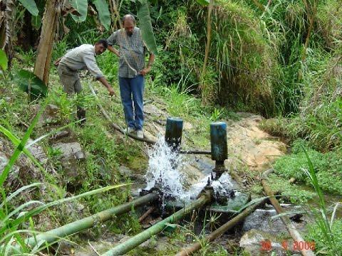 Bombas de Ariete, una solución para los problemas de Agua en las fincas - TvAgro por Juan G. Angel