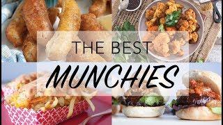 THE BEST VEGAN MUNCHIES RECIPES | 10 Vegan Snack Ideas |  The Edgy Veg